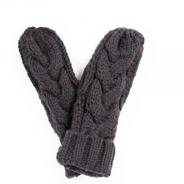 Charlotte Mittens Charcoal