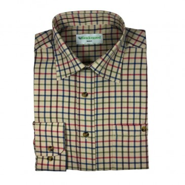 Hawkswood Long Sleeve Tetbury Shirt Green