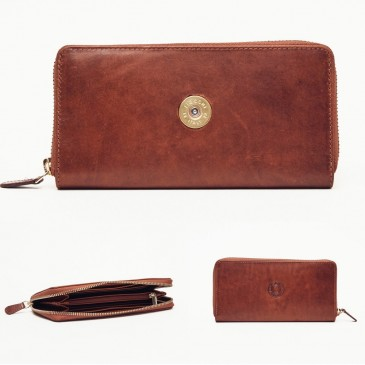 Hicks & Hide Zip Round Purse