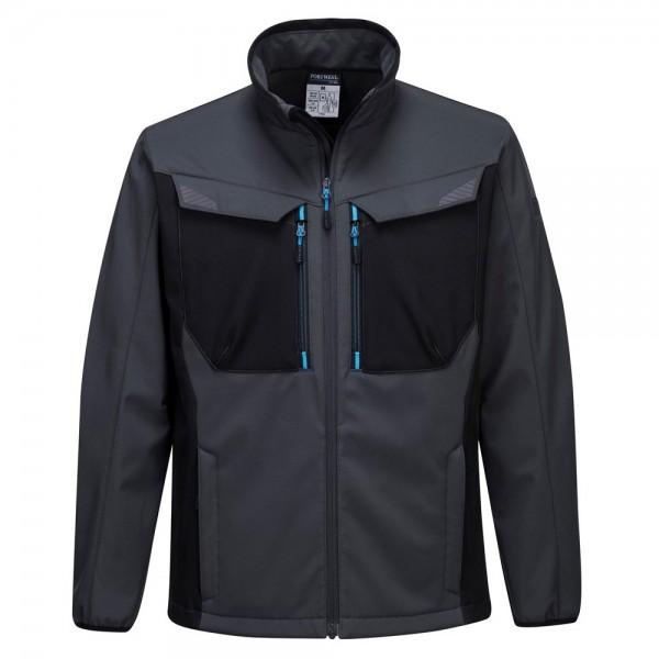 Portwest WX3 Softshell Jacket Grey/Blue