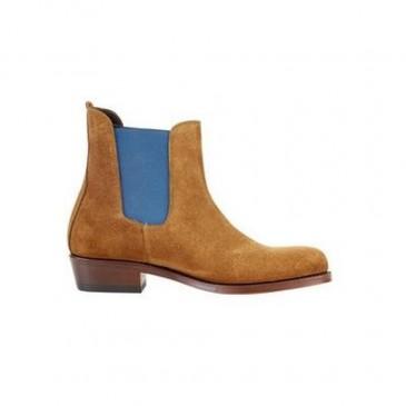 The Spanish Boot Company - Valverde Jodhpur Boots Camel
