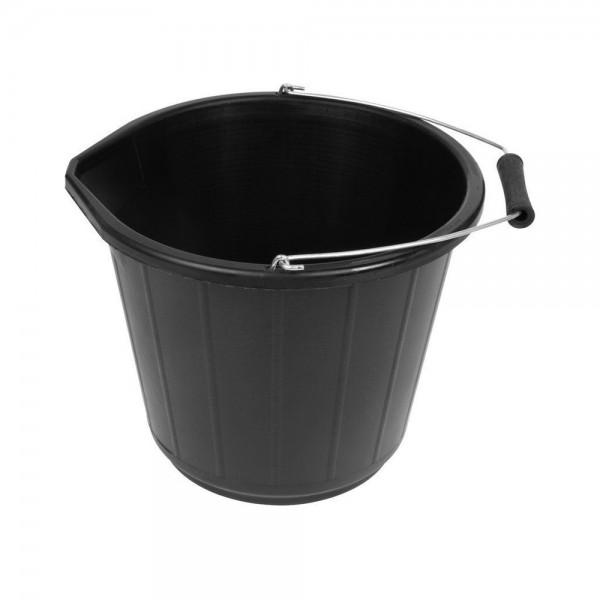 3 Gallon Black Bucket