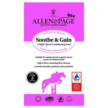 Allen & Page Soothe & Gain 20kg