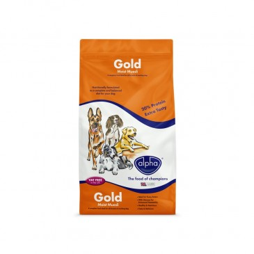 Alpha Gold Moist Muesli 15 kg