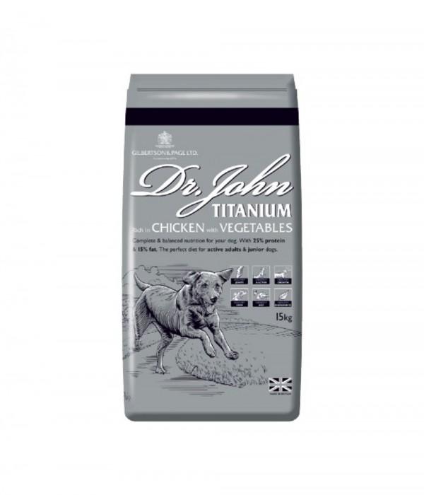 Dr John Titanium 15kg
