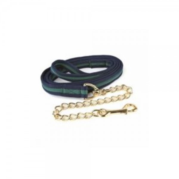 Hy Soft Webbing Lead Rein With Chain