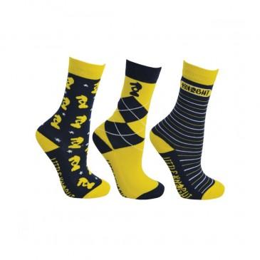 Little Knight Lancelot Socks (Pack of 3)