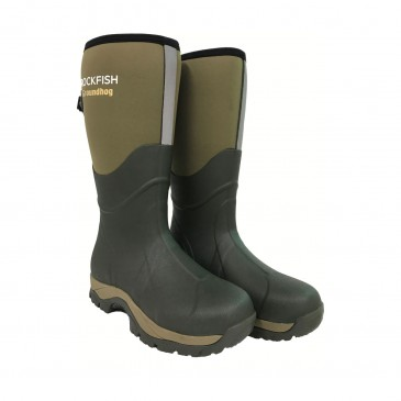 Rockfish Neoprene Lined Groundhog Wellington Boots