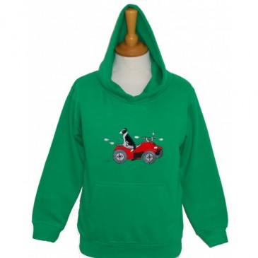 British Country Collection Quad Bike and Collie hoodie