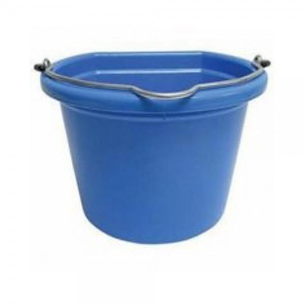 Stablekit Flat Backed Bucket Standard 3 Gallon Blue