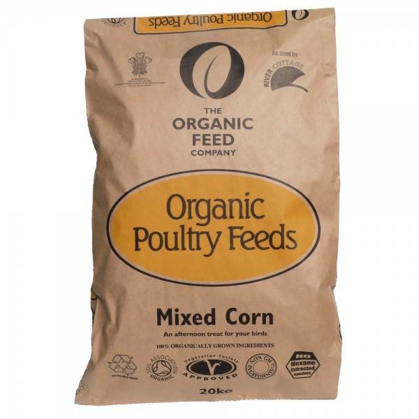 The Organic Feed Company Mixed Corn 20kg