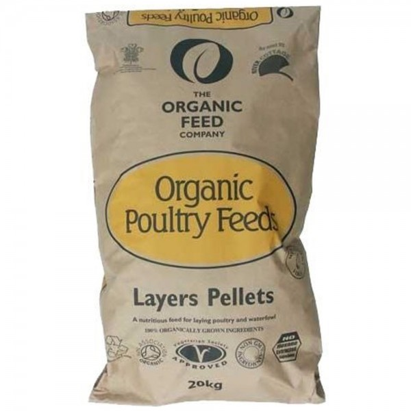 The Organic Feed Company Poultry Layers Pellets 20kg