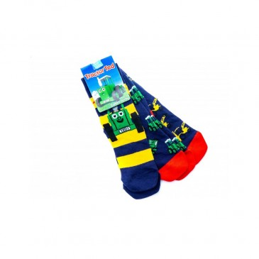 Tractor Ted Digger Sock (Pack of 3)