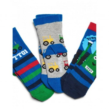 Tractor Ted Socks (Pack of 3)