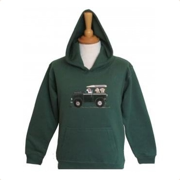 offroader child sweatshirt