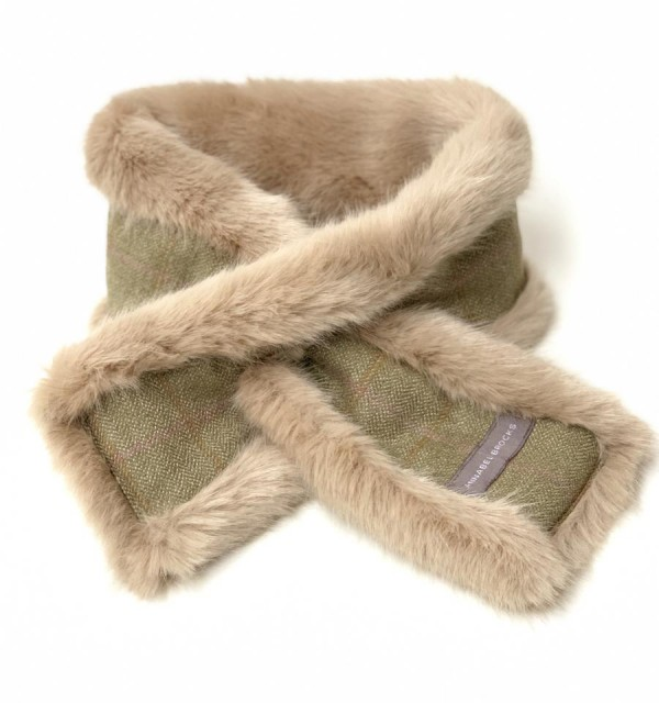 Annabel Brocks Faux Fur Neck Warmers