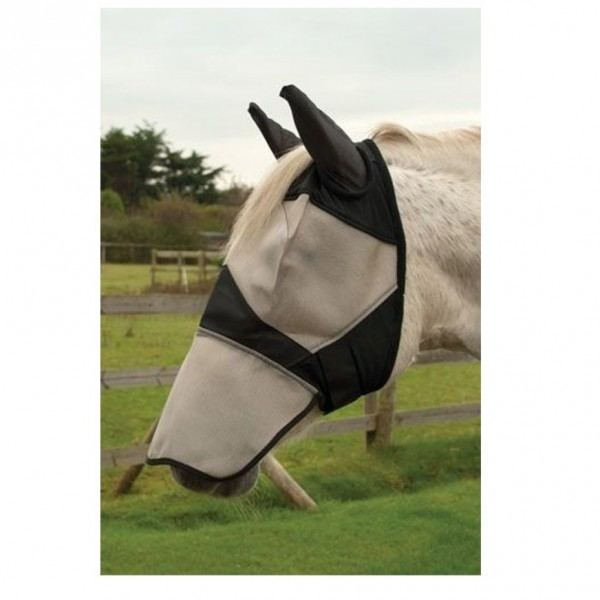 Rhinegold Fly Mask wtih ears and nose