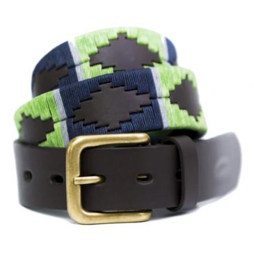 Pioneros Belt Lime/Navy/Grey
