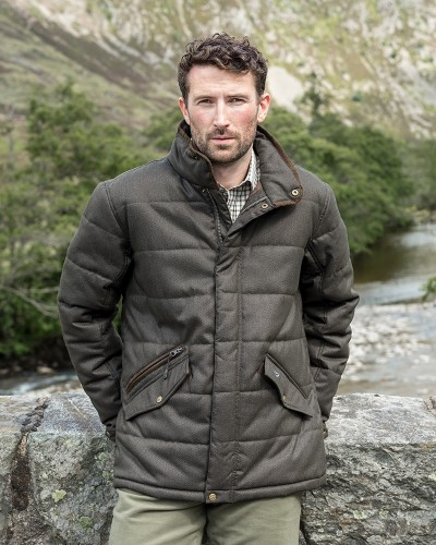 Elgin Mens Quilted Jacket